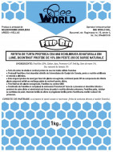 Turta proteica din zahar - Bee World - FEED-BEE PATTIE si PROMOTOR L47