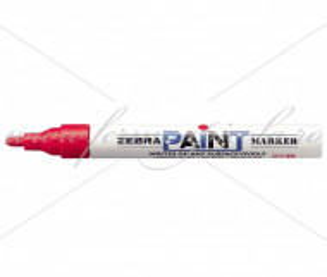 Marker ZEBRA - Paint - Rosu (2023 - 2028)