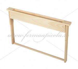 Hranitor din lemn cu rama oarba