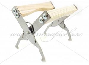 Cleste rame INOX - cu maner din lemn