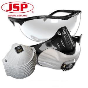 Semi-masca JSP (set de 3 buc) + ochelari de protectie