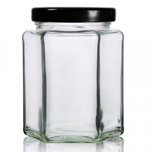 Borcan hexagonal - 280 ml