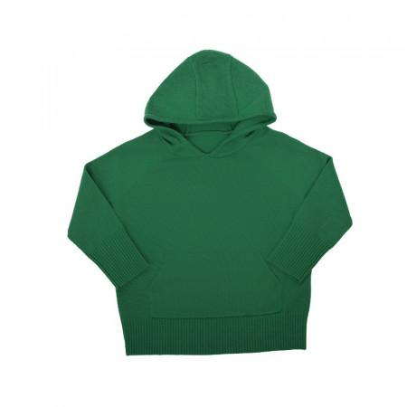 Hanorac lână merinos - Green grass