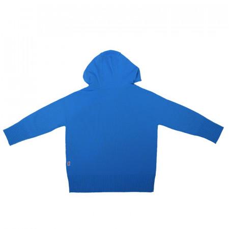 Hanorac lână merinos - Ibiza blue