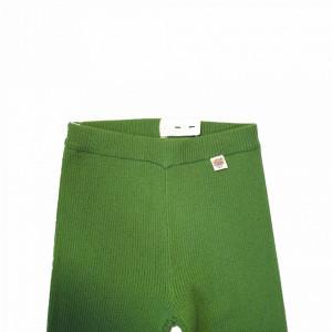 Colanti Rib lână merinos - Apple green