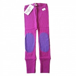 Colanti Rib lână merinos - Purple Wine/Prism Violet