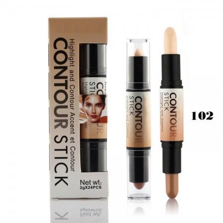 COD 0233, Stick Contour, Concealer, Corector Carmel Contour 102