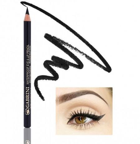 COD 0088, Creion Dermatograf negru, Waterproof Eye & Lip Pencil