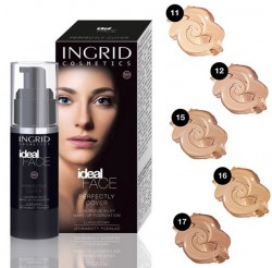 COD 291, Fond de Ten Perfectly Cover - Ideal Face, nuanta la alegere, 35ml