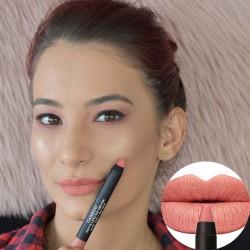 Cod 0222, Creion Ruj Mat Velvet Touch-Rich Color, nuanta 06 - Innocent Peachy