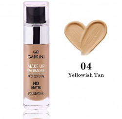 COD 0242, Fond de ten Gabrini HD MATTE Foundation, nuanta 04