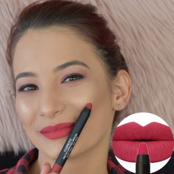Cod 0222, Creion Ruj Mat Velvet Touch-Rich Color, nuanta 10 - Cherry Lips