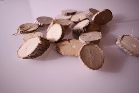 felii lemn alb