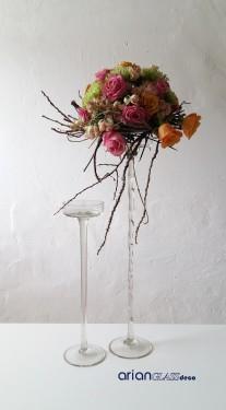 platou pe picior pentru aranjamente florale