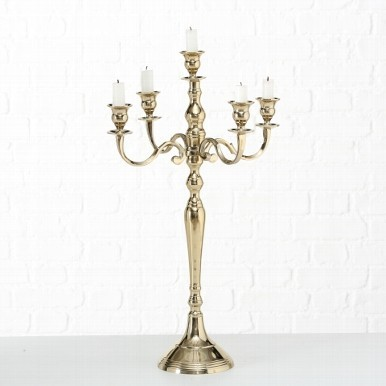 Sfesnic Traian auriu H 65 cm