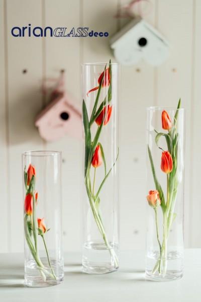 cilindru sticla transparenta