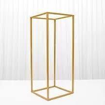 Suport metalic rectangular H 100 L 24 cm