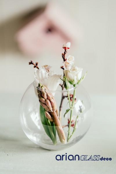 boluri sticla flori