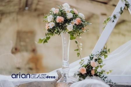 Vaza pentru nunta Adara H 60 cm