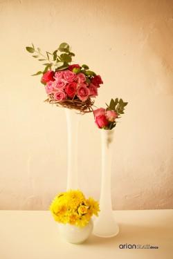 vaza sticla matisata