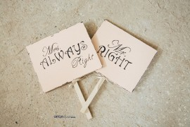 Poze 75008 Placute mdf inscriptionate Mr Right