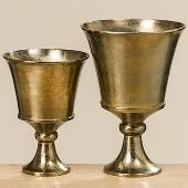 Cupa metalica aurie Padova H 37 cm