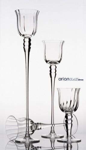 sfesnice sticla aranjamente nunta