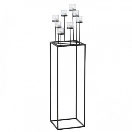 Suport metalic rectangular H 118 L 28 cm