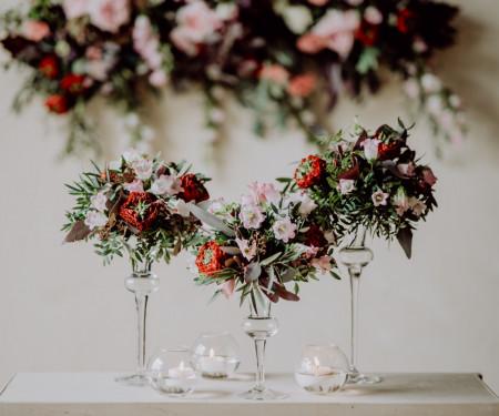sfesnice sticla pentru aranjamente florale