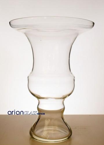 Cupa din sticla transparenta Elysium H 28 cm