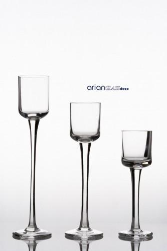 sfesnice sticla pentru aranjamente