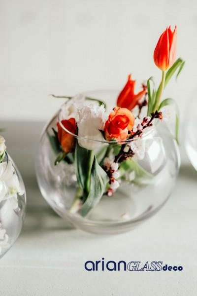 boluri sticla pentru aranjamente florale