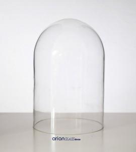 Cupola sticla H 22 D 12 fara suport
