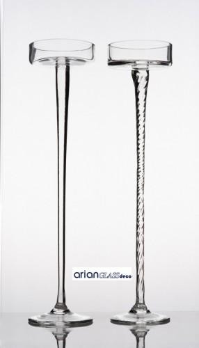 Platou Calypso cu picior spiralat H 60 cm