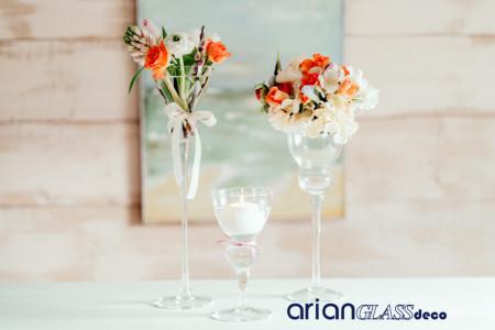 suport sticla pentru flori