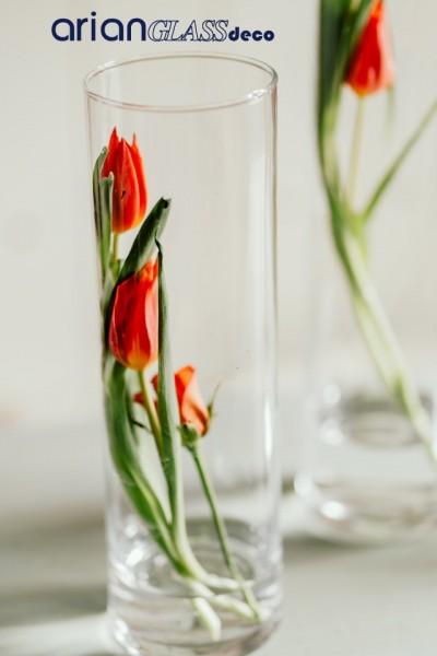 cilindri sticla florarie