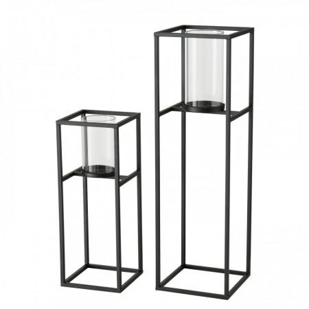 Set 2 suporturi metalice rectangulare 45-68 cm