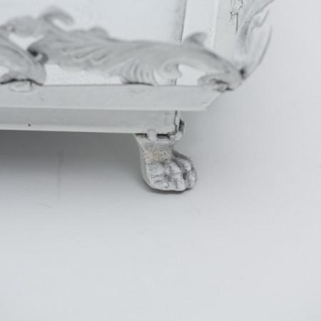 Tava metalica alba L 32 cm