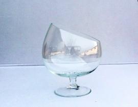 Cupa sticla brandy inclinat H 20 D 18