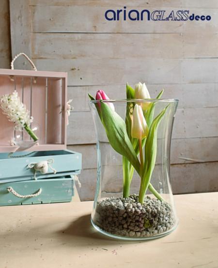 vaza sticla pentru florarie