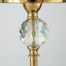 Sfesnic metalic auriu H 51 cm