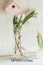 cilindru sticla pentru aranjamente florale