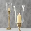 Sfesnic metalic auriu Vendi H 61 cm