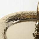 Etajera metalica aurie Camille H 63 cm