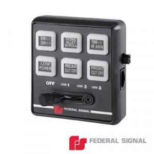 660000 Federal Signal Controlador Serial De 6 Boto