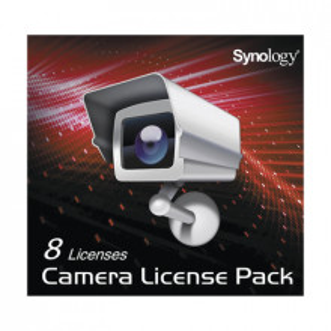 CLP08 Synology Licencia para 8 camaras IP en servi