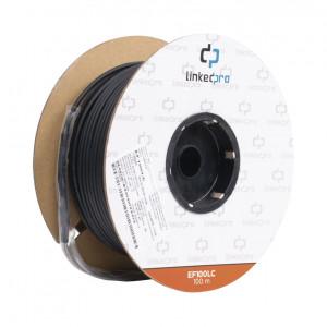 Ef100lc Linkedpro Carrete De Fibra Optica Monomodo
