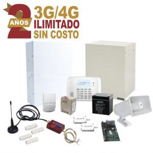 Kit2mini Syscom KIT De Alarma Con 2 ANOS De Comun