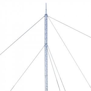 Ktz30g024p Syscom Towers Kit De Torre Arriostrada De Techo De 24