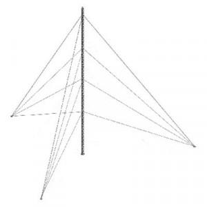 Ktz35g045 Syscom Towers Kit De Torre Arriostrada D